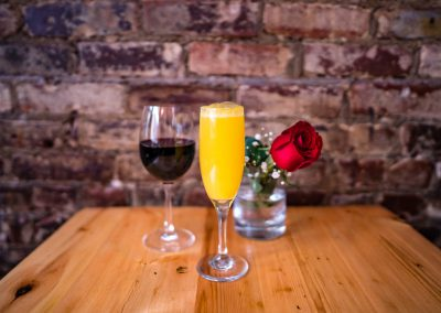 Red Wine and Mimosas