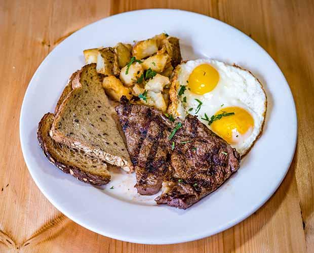 Trufa Steak & Eggs